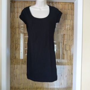 Black bodycon t-shirt dress